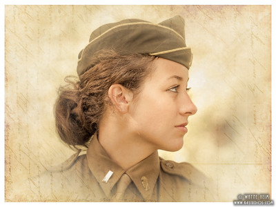 Female Reenactor   Photography by Wayne Heim