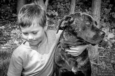 Pals - Black & White  Photography by Wayne Heim