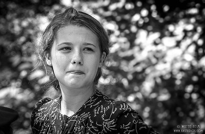Young Resistance Fighter    Photography by Wayne Heim