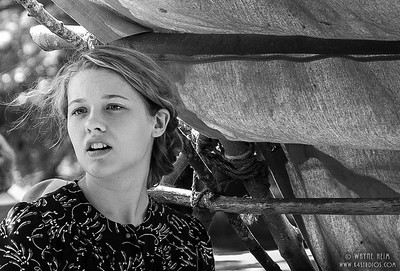 Young Resistance Fighter 2    Photography by Wayne Heim