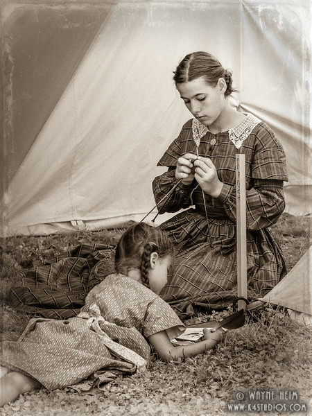 Knitting    Photography by Wayne Heim