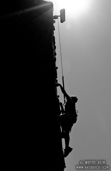 Climbing    Black & White Photography by Wayne Heim