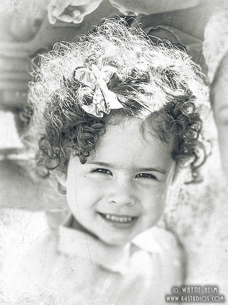 Curly Top   Black & white Photography by Wayne Heim