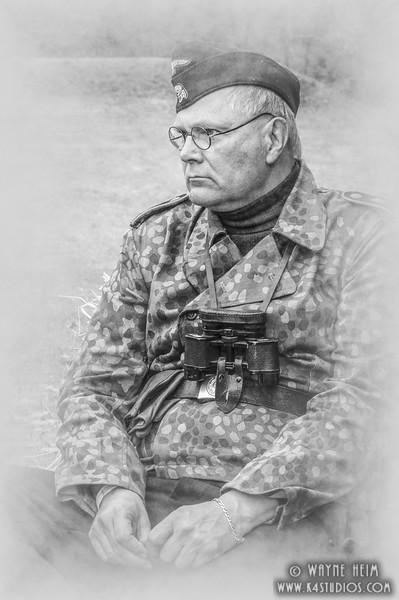 Portrait of Tank Commander    Photography by Wayne Heim