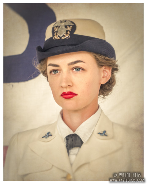 Portrait of Navy    Photography by Wayne Heim