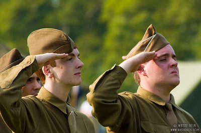 Salute - Photography by Wayne Heim