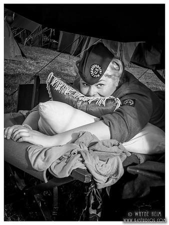 War Correspondent  Black and White Photography by Wayne Heim