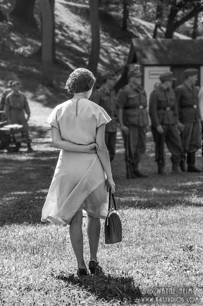 Lady Reenactor    Photography by Wayne Heim