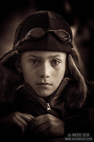 Young Aviator   Photography by Wayne Heim