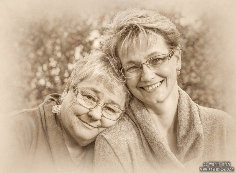 Mother & Daughter   Photography by Wayne Heim