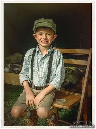Portrait of a Young Boy  Photography by Wayne Heim