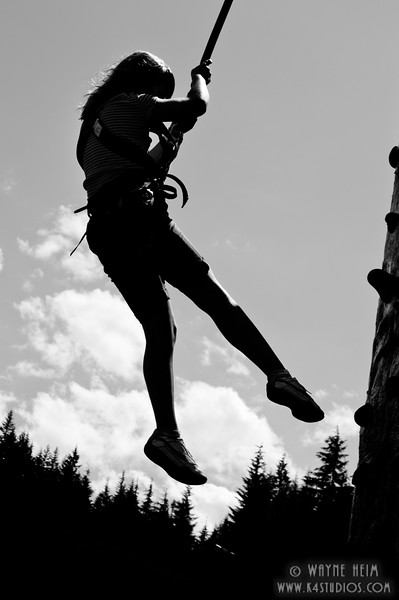 High Flying -  Black and white photography by Wayne Heim