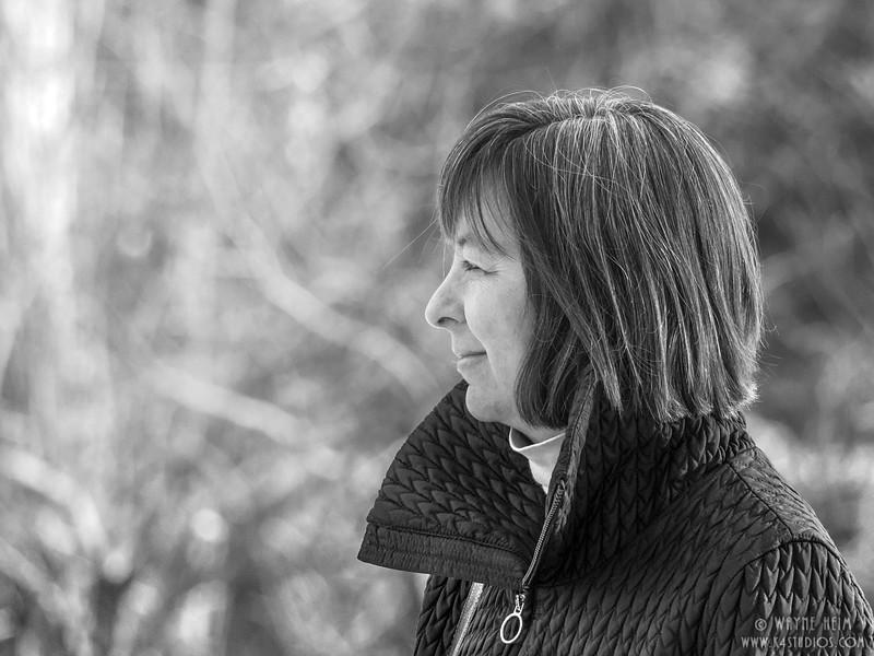 Pensive    Black & White Photography by Wayne Heim