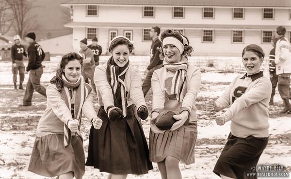 Cheer leading Squad  Photography by Wayne Heim