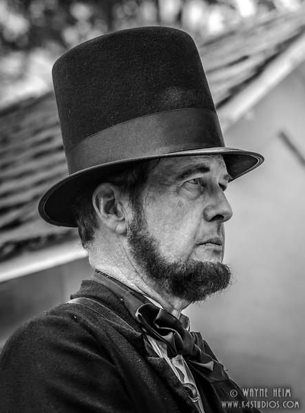Honest Abe    Photography by Wayne Heim