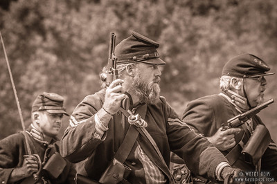 Union Troops Charge     Photography by Wayne Heim