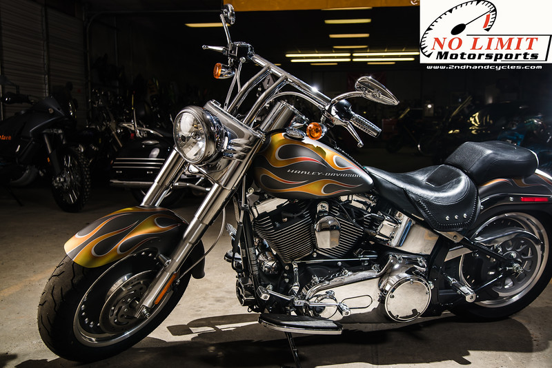 """This gorgeous 2007 Harley Davidson FLSTF Softail Fat Boy could be yours today!<br /> <br /> <a href=""""http://www.2ndhandcycles.com/2007-Harley-Davidson-FLSTF-Softail-Fat-Boy"""">http://www.2ndhandcycles.com/2007-Harley-Davidson-FLSTF-Softail-Fat-Boy</a>"""