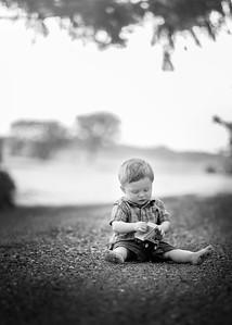 Greyson 18 months B&W #13