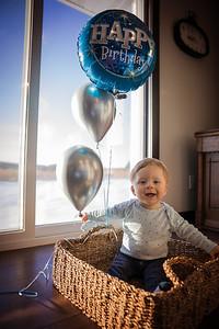 Greyson one year-3