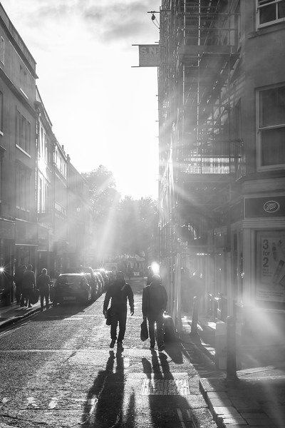 Bath Street at Sunset