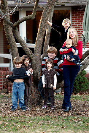 Shawn's Family 11.27.09