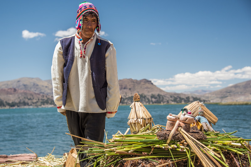 Mini Me - Uros Islands, Lake Titicaca, Peru