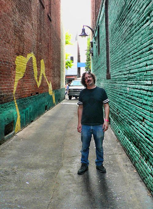Macon GA alleyway