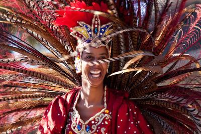 Mardi Gras Zulu Parade, New Orleans, Louisiana