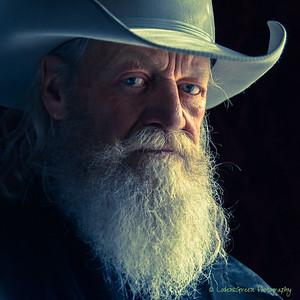 Blue eyed cowboy.