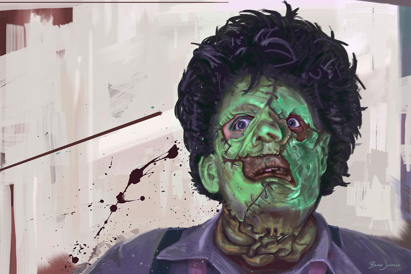 LIMITED EDITION PRINT SERIES | Leatherface