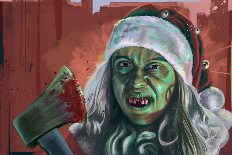 LIMITED EDITION PRINT SERIES | Evil Santa