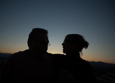 Father & Daughter at the Skybar, Asheville, North Carolina