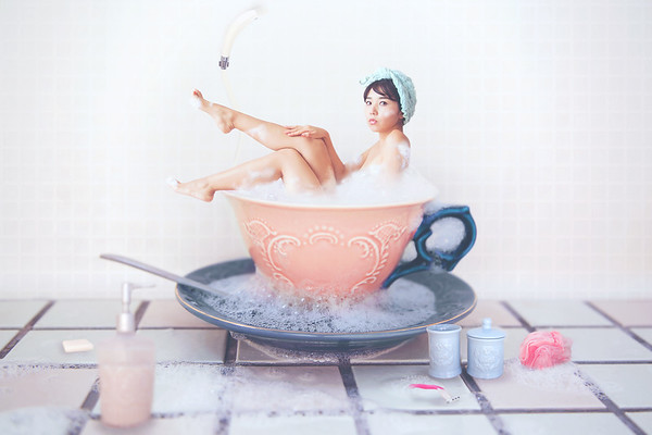 All you need is a long hot bubble bath.