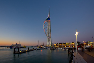 Spinnaker Tower, Portsmouth, Hampshire