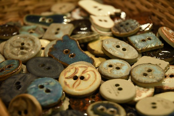 Pottery Buttons