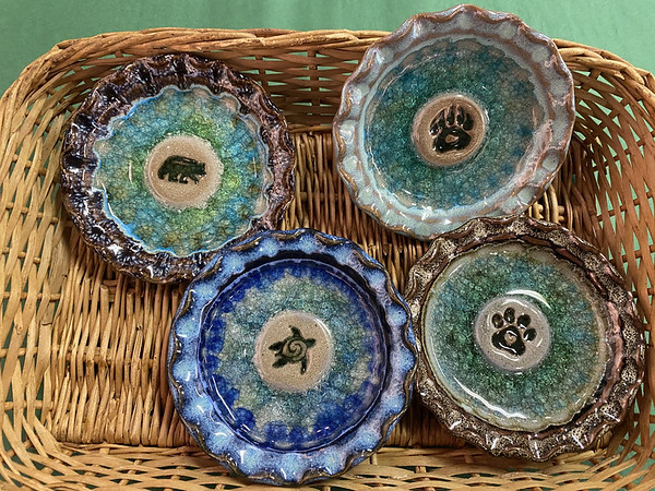 New! Embossed Dishes