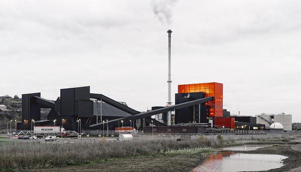 Blackburn Meadows Power Station, Rotherham, South Yorkshire.
