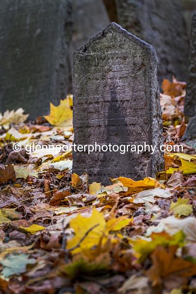 Gravestone, Old Jewish Cemetery, Prague.