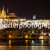 Prague Castle and Charles Bridge, Prague.