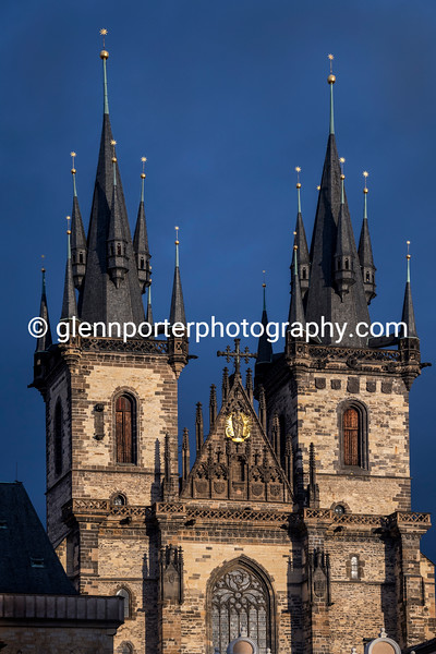 Church of Our Lady before Tyn, Old Town Square, Prague.