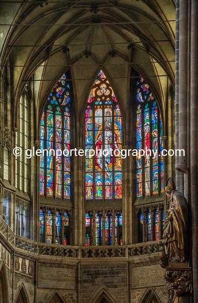 St Vitus's Cathedral, Prague.