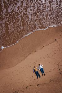 Abigail and Gareth pre-wed drone 0001