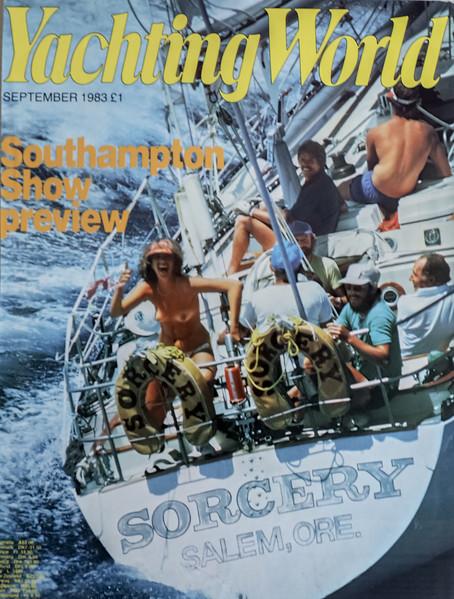 Yachting World (UK) Magazine September 1983