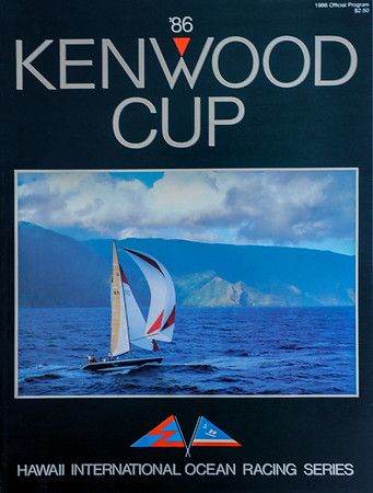 Kenwood Cup 1986 Program Cover