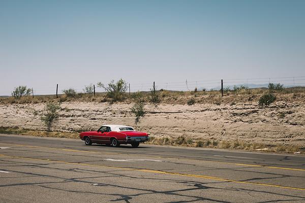 Vintage Oldsmobile Marfa Texas