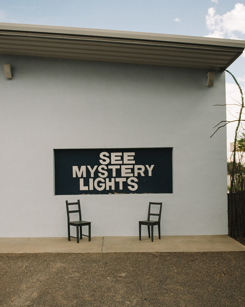 See Mystery Lights Sign Marfa Texas 2019-1
