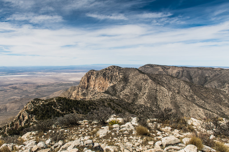 Guadalupe Mountains National Park Peak Summit View