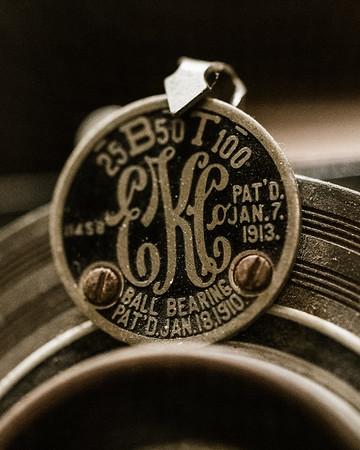 Antique Kodak Camera Macro