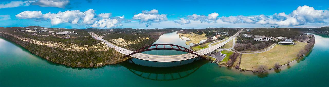 360 Bridge ( 360° Aerial Panoramic)