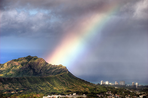Diamond Head Rainbow